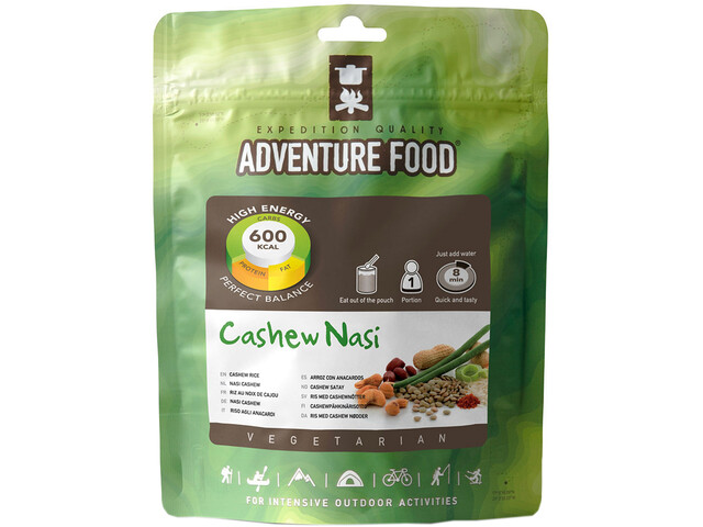 Adventure Food Outdoor Meal Vegetarian Single Portion Cashew Nasi